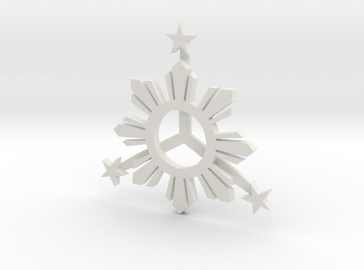 Sun_Star_Final_003.dae 3d printed