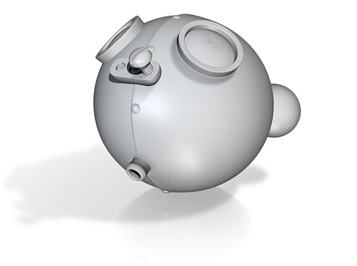 RoboBear Head Small 3d printed