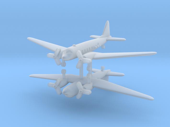 1/700 AC-47 Spooky (x2) 3d printed