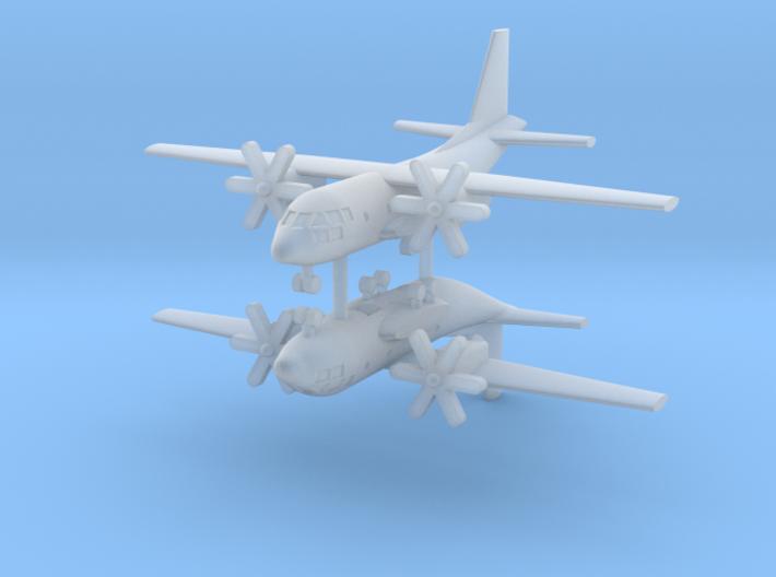 1/700 C-27J Spartan (x2) 3d printed