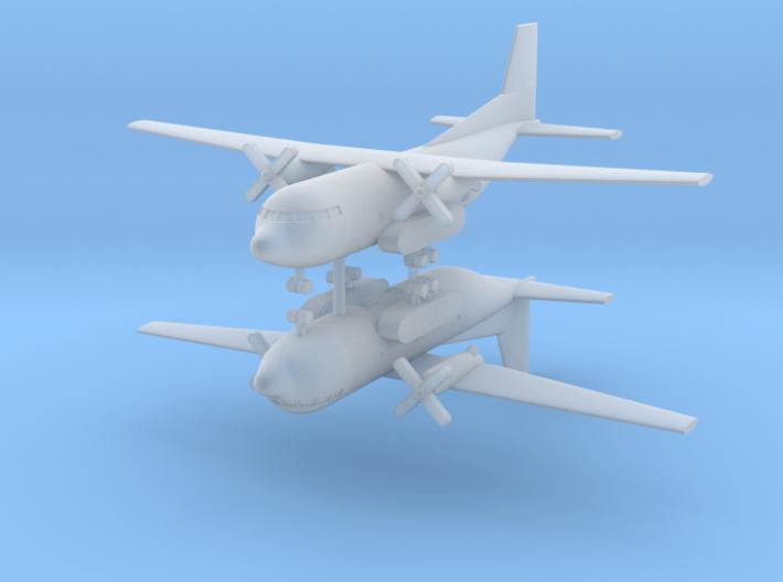 1/700 Transall C-160 (x2) 3d printed