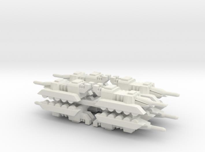 6 Tank x8 3d printed