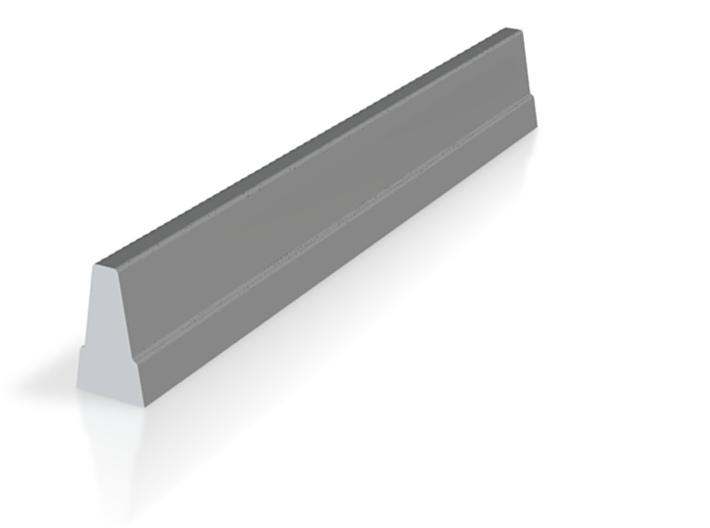 02.001.002_Betonschutzwand Profil Step 3d printed