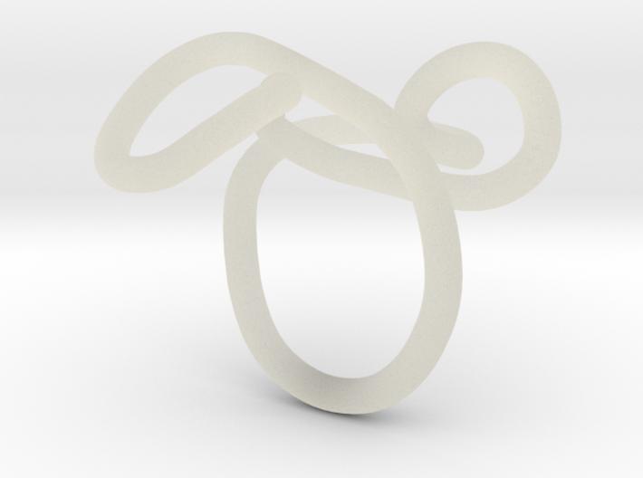 ring zwart boogjes goed 3d printed