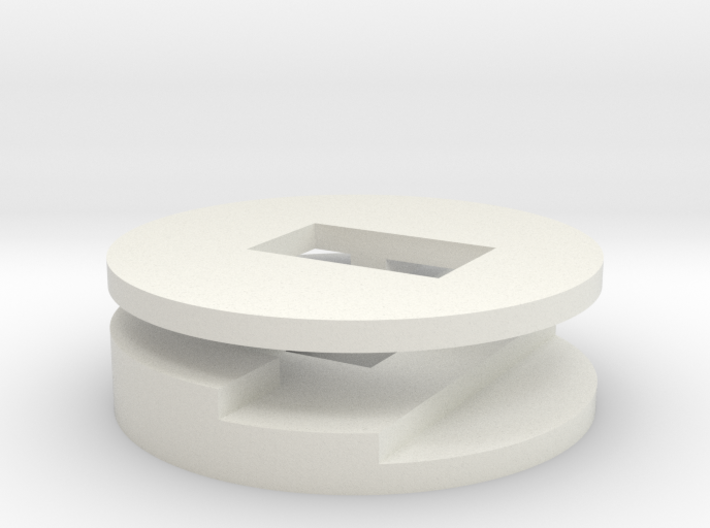 plugbutton 3d printed