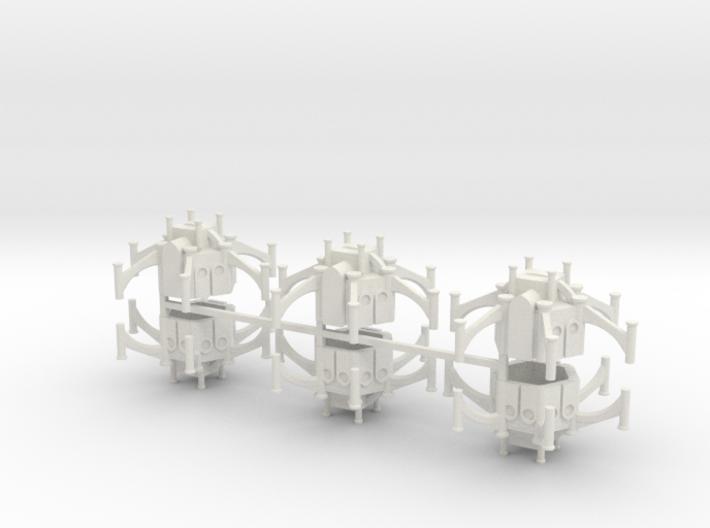 Gothic Shrine x6 3d printed