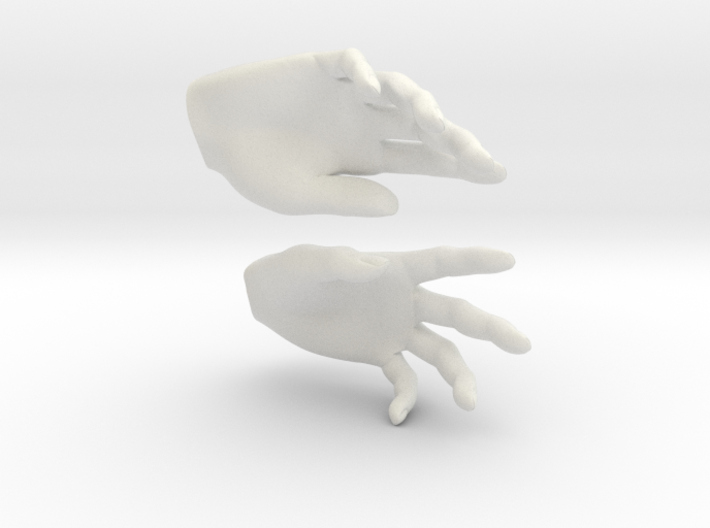 Hands 3d printed