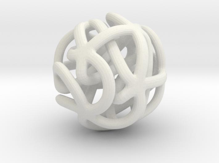 Starfish Sculpture 3d printed