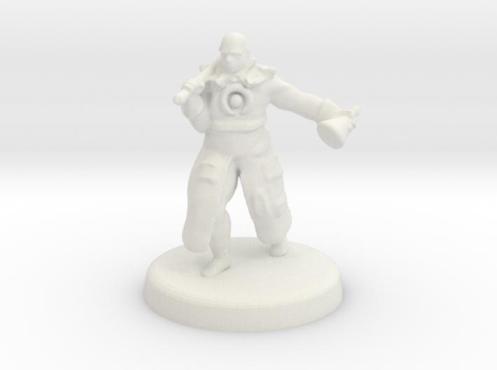 Hakeem (Human battle cleric) 3d printed