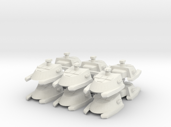 7-tank x12 3d printed