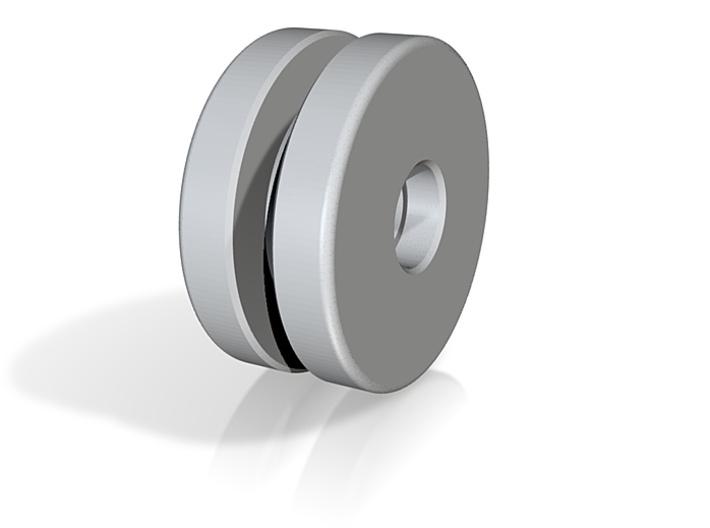 MM Wheel 3d printed