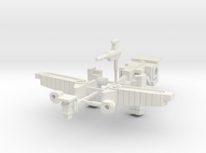 C Bonecrush-tron 3d printed