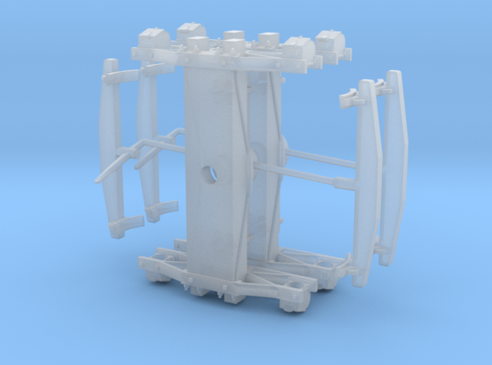 "Swing Motion Truck - NWSL 1.015"" axles 3d printed"