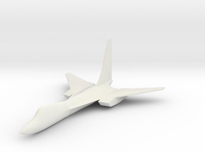 Tu 230, small 3d printed