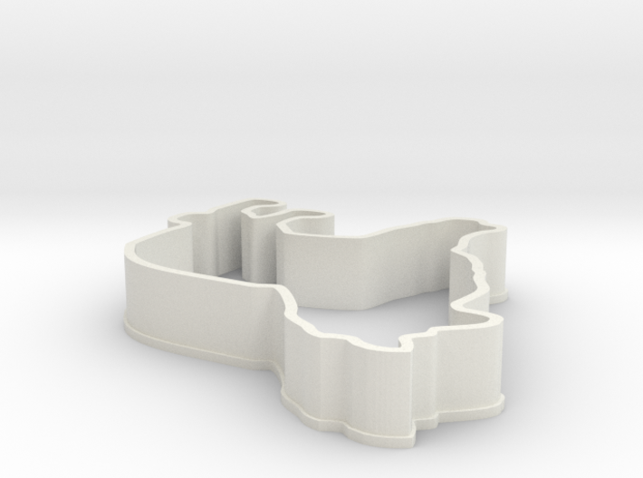 Sheltie Cookie Cutter 3d printed