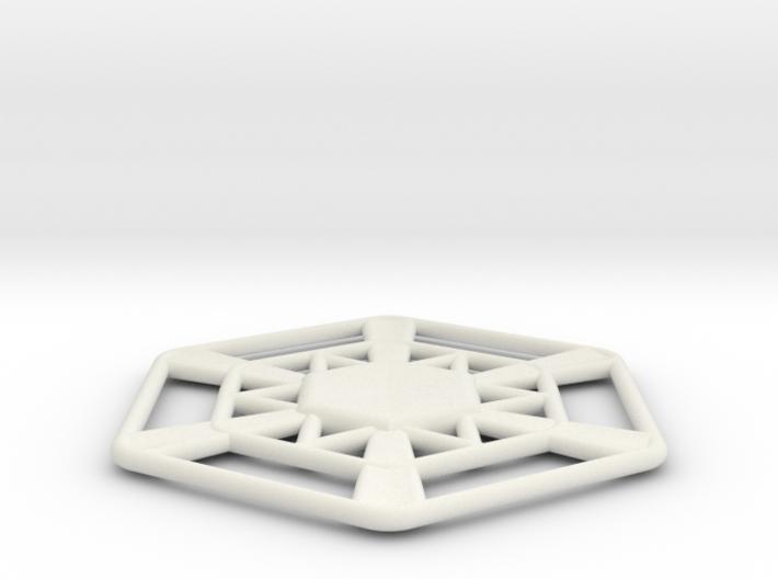 Snowflake 3d printed