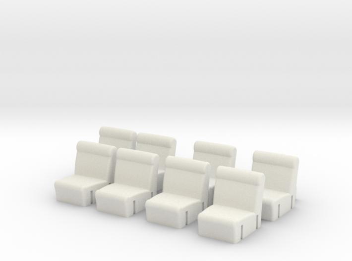 Cirkelbank modulaire 8 elementen 3d printed