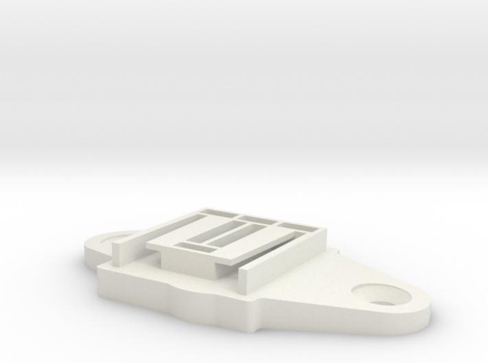 offset mount 3d printed