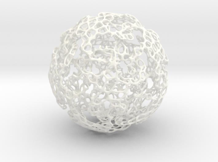 Linked Voroni 3d printed