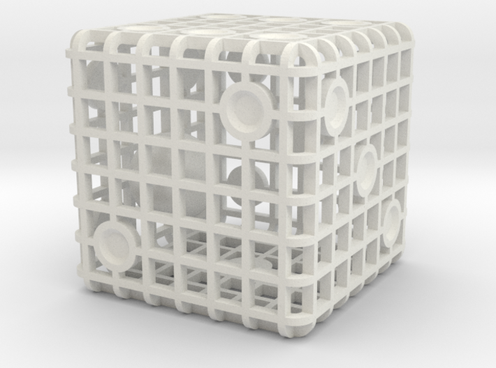 Steel Cage Die #1 3d printed Description