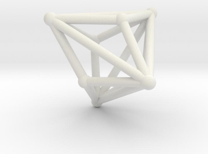 Triakistetrahedron 3d printed