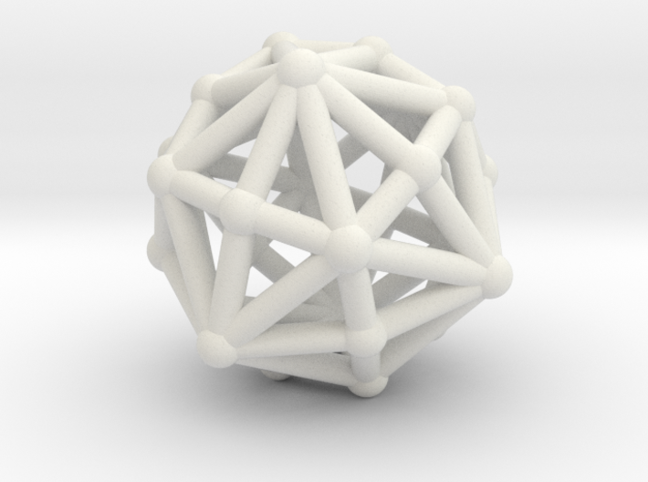 Dysdiakisdodecahedron 3d printed