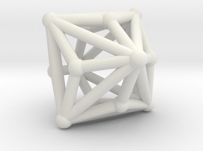 Triakisoctahedron 3d printed