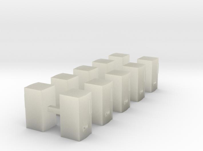 Modern Soda Machine - Z scale 3d printed