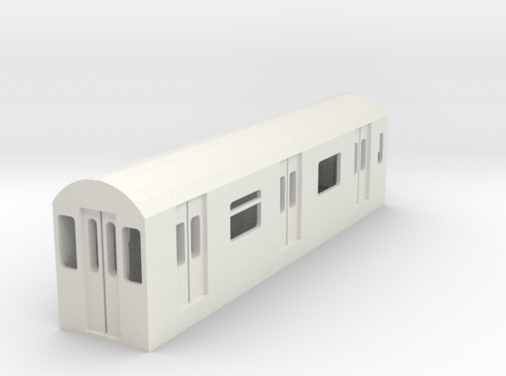 R142 Subway Car 3d printed