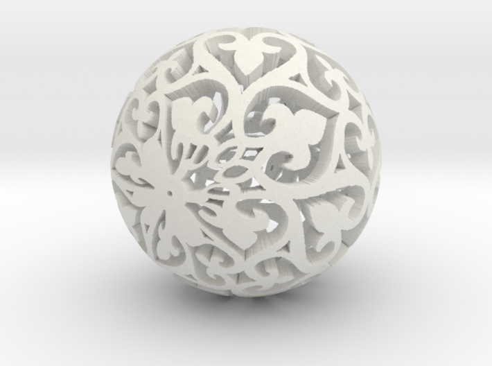 Moroccan Ball 7.3 3d printed