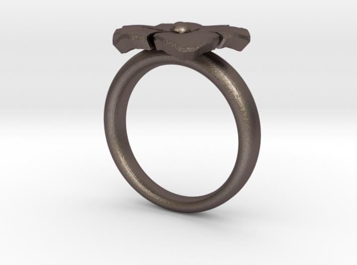 ring flower s44 3d printed