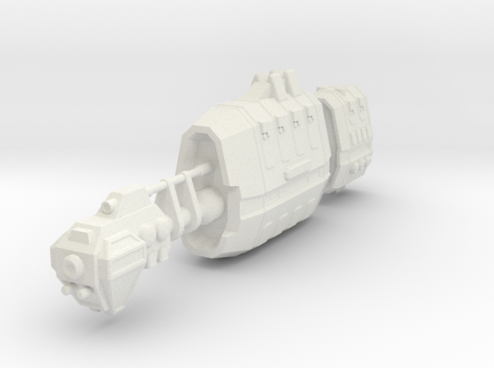USASF Battlecruiser 3d printed
