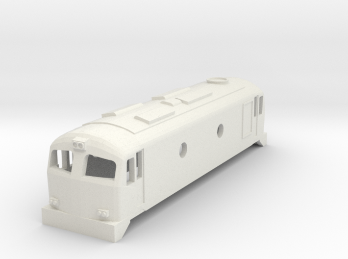 3mm Scale CIE C Class 3d printed