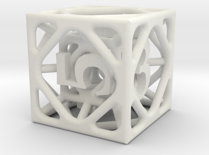 Cage d6 3d printed