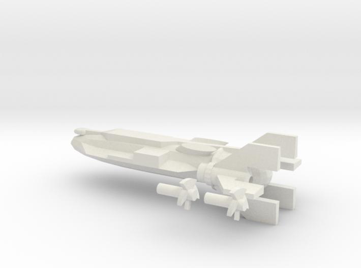 NWM Cruiser Master shape 3d printed