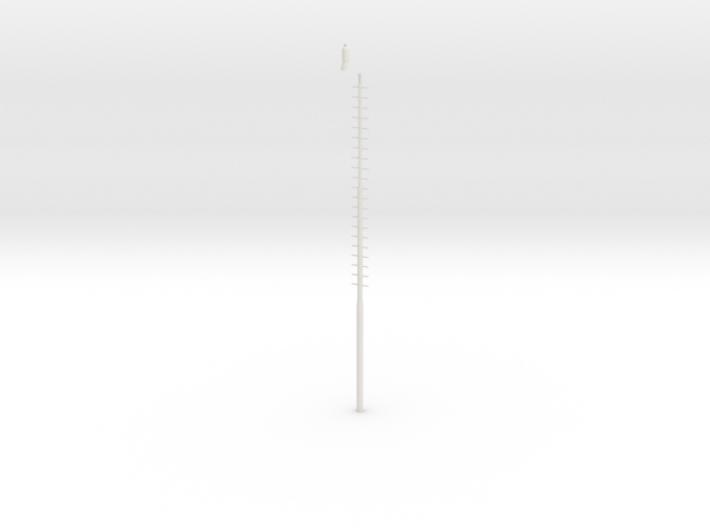 Czech Yard Lamp H0 Scale 3d printed