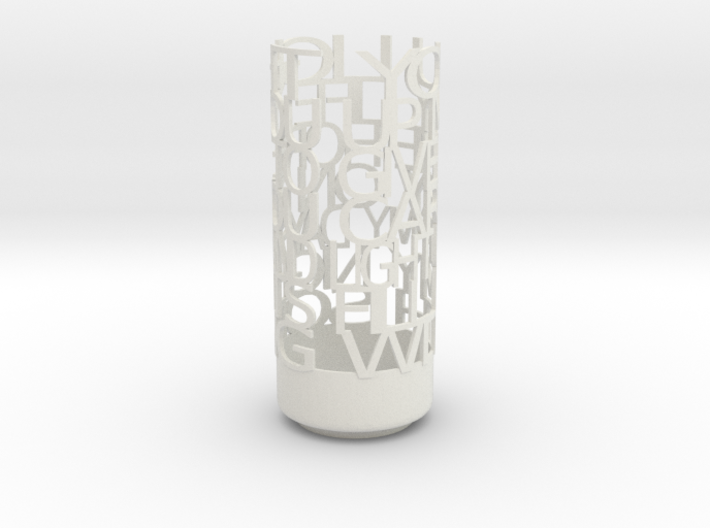 Light Poem Parents 3d printed