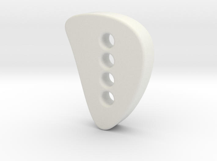 Designer button 3 3d printed