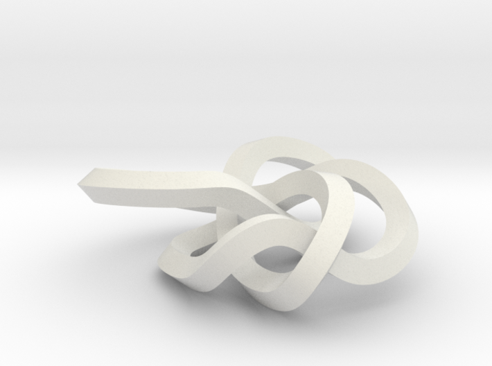 small 8-19 torus knot 3d printed