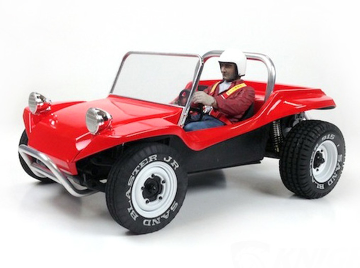 Sr Beach Buggy Main Body D Printed Shown Assembled With Tamiya Srb Chassis And Other Parts