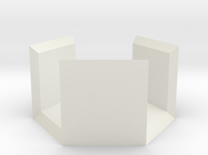 Half Hexbox (simple) 3d printed