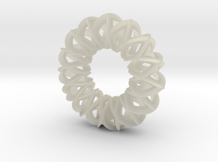 Ball in a basket - PENDANT 3d printed