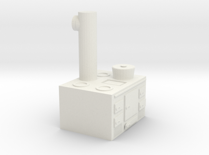 Cooker 1:72 3d printed