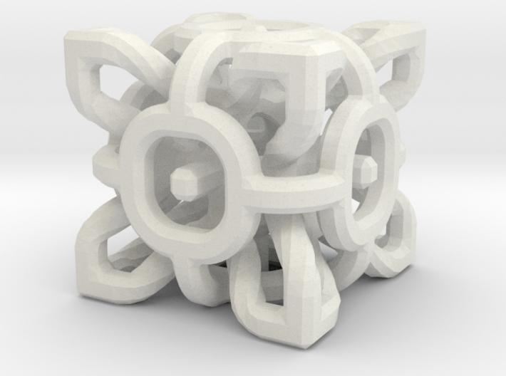 Complex Cube 3cm 3d printed