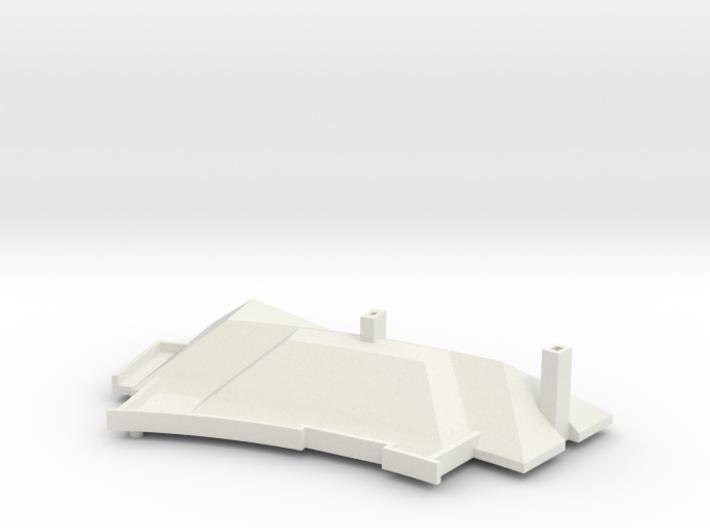 MV's house, roof, v2 3d printed