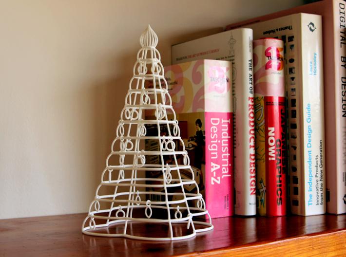 "Christmas tree ""Tower"" 3d printed"