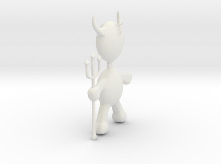 Devil Pendant 3d printed
