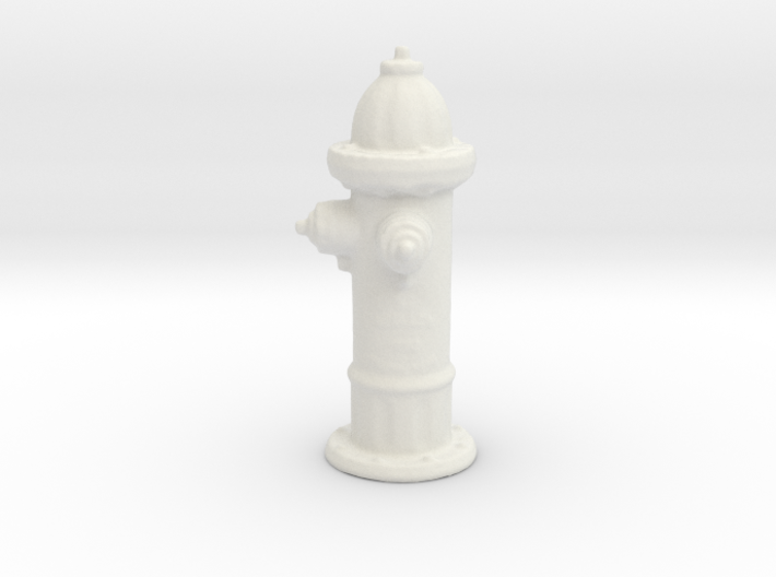 Hydrant 3d printed