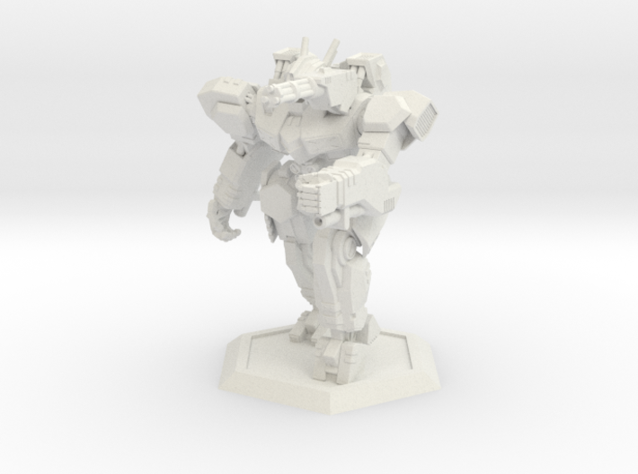 WHAM- Sandman (1/160th) 3d printed