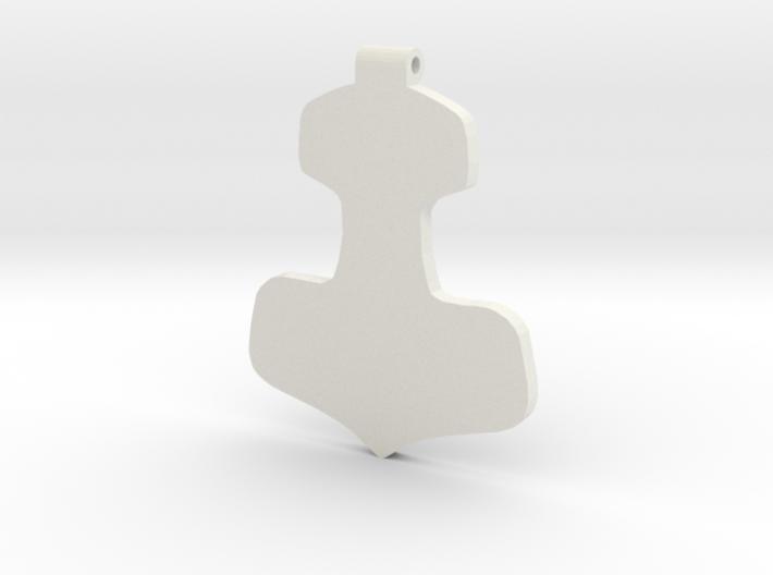 Thurisaz Hammer 3d printed